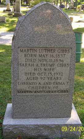 GIBBS, MARTIN LUTHER - Stark County, Ohio | MARTIN LUTHER GIBBS - Ohio Gravestone Photos