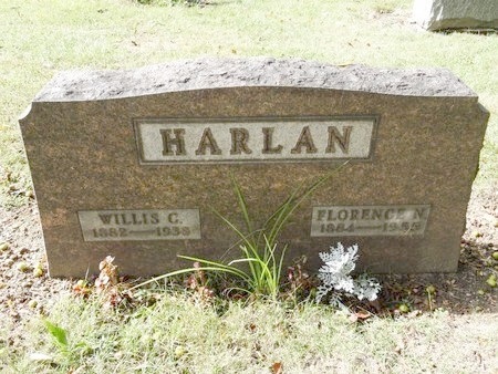 HARLAN, WILLIS C. - Stark County, Ohio | WILLIS C. HARLAN - Ohio Gravestone Photos