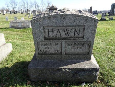 HAWN, ALLICE M. - Stark County, Ohio | ALLICE M. HAWN - Ohio Gravestone Photos