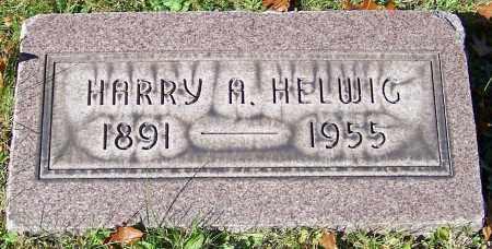 HELWIG, HARRY A. - Stark County, Ohio | HARRY A. HELWIG - Ohio Gravestone Photos