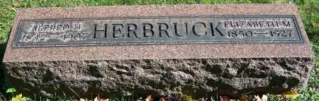 HERBRUCK, ELIZABETH M. - Stark County, Ohio | ELIZABETH M. HERBRUCK - Ohio Gravestone Photos