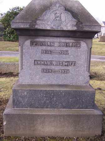 HOELAND, ANNA C. - Stark County, Ohio   ANNA C. HOELAND - Ohio Gravestone Photos