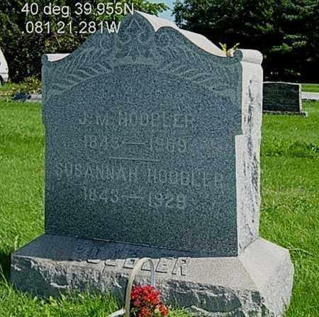 SALMON HOOBLER, SUSANNAH - Stark County, Ohio | SUSANNAH SALMON HOOBLER - Ohio Gravestone Photos