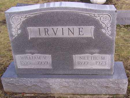 IRVINE, WILLIAM V. - Stark County, Ohio | WILLIAM V. IRVINE - Ohio Gravestone Photos