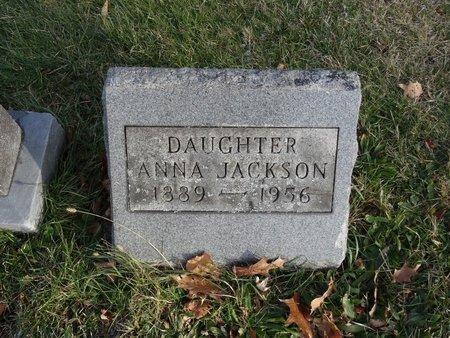 JACKSON, ANNA - Stark County, Ohio | ANNA JACKSON - Ohio Gravestone Photos