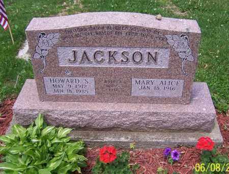 JACKSON, HOWARD S. - Stark County, Ohio | HOWARD S. JACKSON - Ohio Gravestone Photos