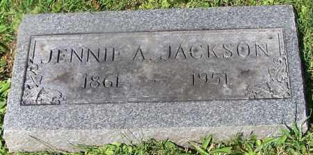 JACKSON, JENNIE A. - Stark County, Ohio | JENNIE A. JACKSON - Ohio Gravestone Photos