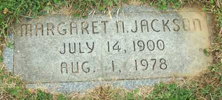 JACKSON, MARGARET N. - Stark County, Ohio   MARGARET N. JACKSON - Ohio Gravestone Photos