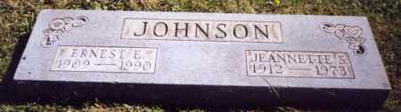 JOHNSON, ERNEST E. - Stark County, Ohio | ERNEST E. JOHNSON - Ohio Gravestone Photos