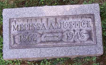 JUSTICE, MELISSA A. - Stark County, Ohio   MELISSA A. JUSTICE - Ohio Gravestone Photos