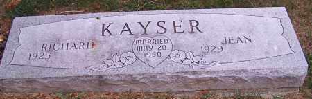 KAYSER, RICHARD - Stark County, Ohio   RICHARD KAYSER - Ohio Gravestone Photos