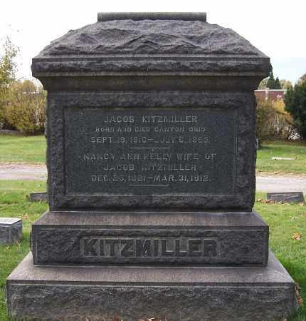 KELLY KITZMILLER, NANCY ANN - Stark County, Ohio | NANCY ANN KELLY KITZMILLER - Ohio Gravestone Photos