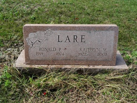 LARE, RONALD P. - Stark County, Ohio | RONALD P. LARE - Ohio Gravestone Photos