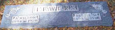 LEWERS, BESSIE M. - Stark County, Ohio | BESSIE M. LEWERS - Ohio Gravestone Photos