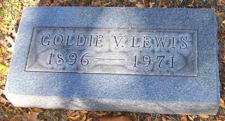 LEWIS, GOLDIE V. - Stark County, Ohio   GOLDIE V. LEWIS - Ohio Gravestone Photos