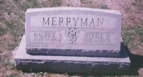 MERRYMAN, MAURICE S. - Stark County, Ohio | MAURICE S. MERRYMAN - Ohio Gravestone Photos