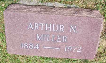 MILLER, ARTHUR N. - Stark County, Ohio   ARTHUR N. MILLER - Ohio Gravestone Photos