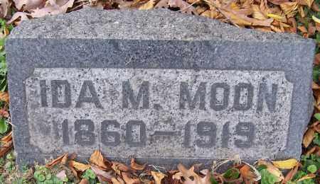 MOON, IDA M. - Stark County, Ohio   IDA M. MOON - Ohio Gravestone Photos