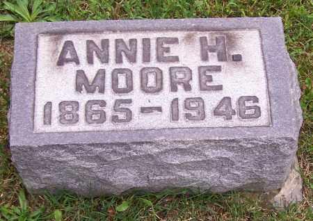 MOORE, ANNIE H. - Stark County, Ohio | ANNIE H. MOORE - Ohio Gravestone Photos