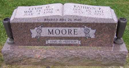 MOORE, CLYDE O. - Stark County, Ohio | CLYDE O. MOORE - Ohio Gravestone Photos