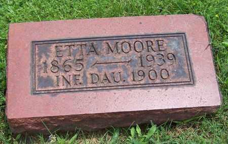 MOORE, INFANT DAUGHTER - Stark County, Ohio | INFANT DAUGHTER MOORE - Ohio Gravestone Photos