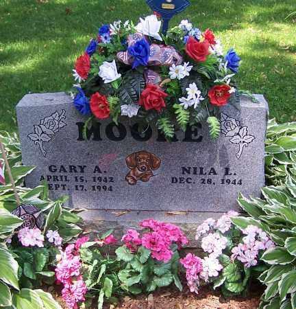 MOORE, GARY A. - Stark County, Ohio | GARY A. MOORE - Ohio Gravestone Photos