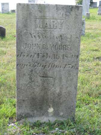 MOORE, MARY - Stark County, Ohio | MARY MOORE - Ohio Gravestone Photos