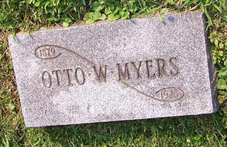 MYERS, OTTO W. - Stark County, Ohio   OTTO W. MYERS - Ohio Gravestone Photos