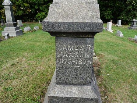 PAXSON, JAMES B. - Stark County, Ohio | JAMES B. PAXSON - Ohio Gravestone Photos