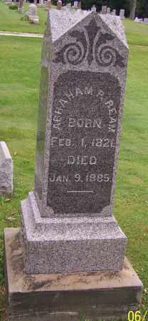 REAM, ABRAHAM P. - Stark County, Ohio   ABRAHAM P. REAM - Ohio Gravestone Photos