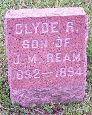 REAM, CLYDE R. - Stark County, Ohio | CLYDE R. REAM - Ohio Gravestone Photos