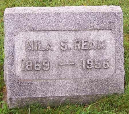 REAM, MILA S. - Stark County, Ohio | MILA S. REAM - Ohio Gravestone Photos