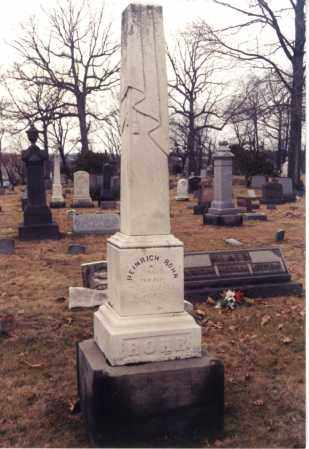 "ROHR, HEINRICH ""HENRY"" - Stark County, Ohio | HEINRICH ""HENRY"" ROHR - Ohio Gravestone Photos"