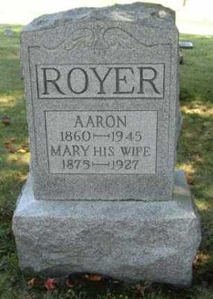 ROYER, MARY - Stark County, Ohio | MARY ROYER - Ohio Gravestone Photos