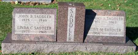 SADDLER, OLIVE M. - Stark County, Ohio | OLIVE M. SADDLER - Ohio Gravestone Photos