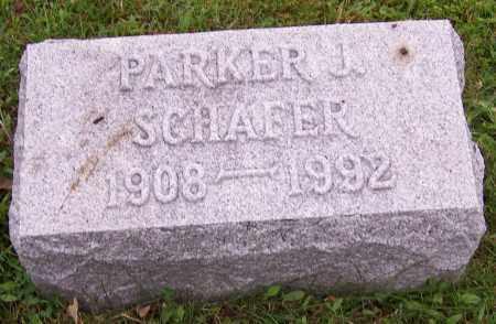 SCHAFER, PARKER J. - Stark County, Ohio | PARKER J. SCHAFER - Ohio Gravestone Photos