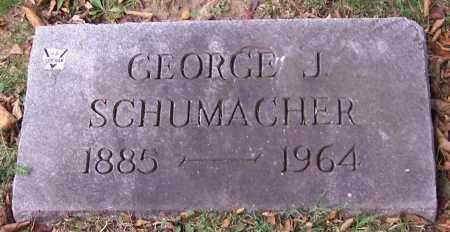 SCHUMACHER, GEORGE J. - Stark County, Ohio   GEORGE J. SCHUMACHER - Ohio Gravestone Photos