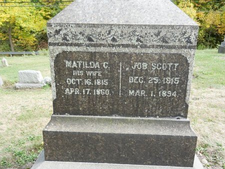 SCOTT, MATILDA C. - Stark County, Ohio | MATILDA C. SCOTT - Ohio Gravestone Photos