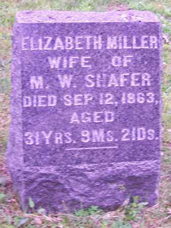 SHAFER, ELIZABETH - Stark County, Ohio | ELIZABETH SHAFER - Ohio Gravestone Photos