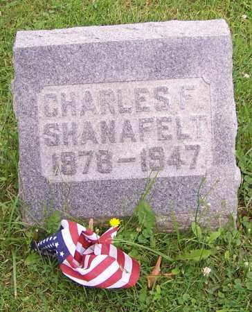 SHANAFELT, CHARLES F. - Stark County, Ohio   CHARLES F. SHANAFELT - Ohio Gravestone Photos