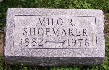 SHOEMAKER, MILO R. - Stark County, Ohio   MILO R. SHOEMAKER - Ohio Gravestone Photos