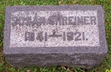 SHREINER, SUSAN - Stark County, Ohio | SUSAN SHREINER - Ohio Gravestone Photos