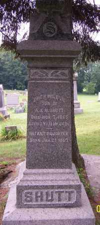 SHUTT, OREN WILBUR - Stark County, Ohio | OREN WILBUR SHUTT - Ohio Gravestone Photos