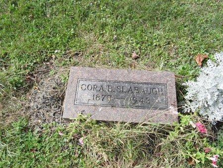 SLABAUGH, CORA B. - Stark County, Ohio | CORA B. SLABAUGH - Ohio Gravestone Photos