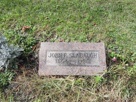 SLABAUGH, JOHN F. - Stark County, Ohio | JOHN F. SLABAUGH - Ohio Gravestone Photos