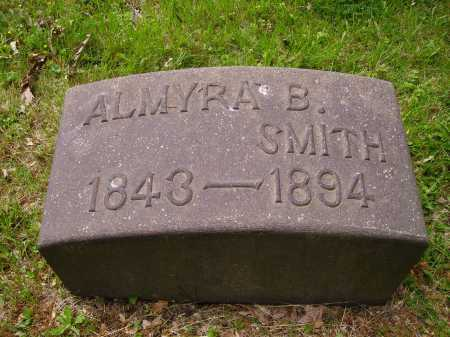 COREY SMITH, ALMYRA B. - Stark County, Ohio | ALMYRA B. COREY SMITH - Ohio Gravestone Photos