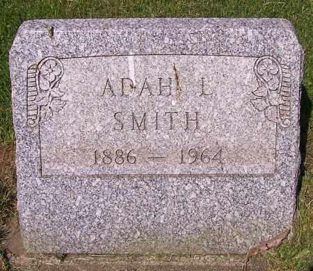 SMITH, ADAH L. - Stark County, Ohio | ADAH L. SMITH - Ohio Gravestone Photos
