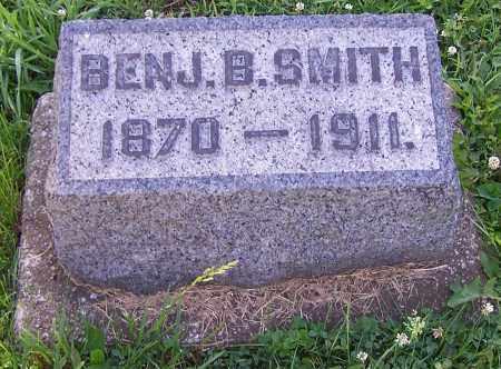 SMITH, BENJ B. - Stark County, Ohio | BENJ B. SMITH - Ohio Gravestone Photos