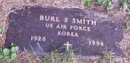 SMITH, BURL S.   (MIL) - Stark County, Ohio | BURL S.   (MIL) SMITH - Ohio Gravestone Photos