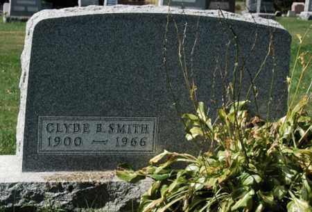 SMITH, CLYDE B. - Stark County, Ohio   CLYDE B. SMITH - Ohio Gravestone Photos